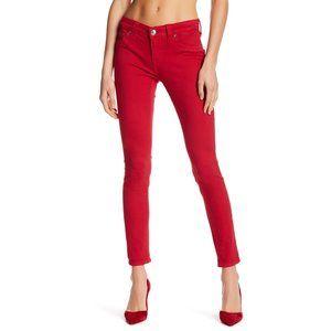 VIGOSS Red Skinny Jeans